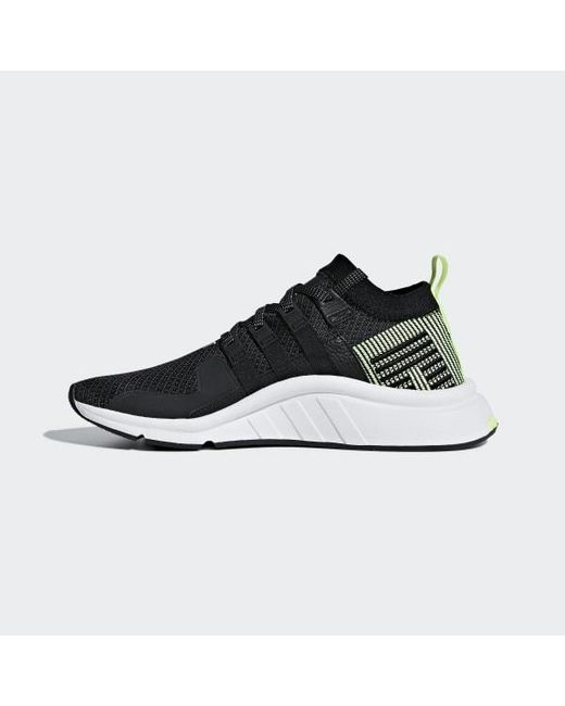 outlet store 69c7a 95adf Women's Black Eqt Support Mid Adv Primeknit Shoes