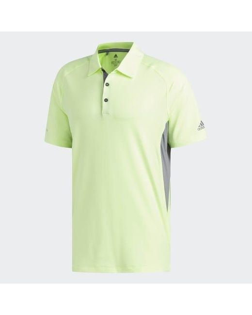 promo code 9113e 000d7 Men's Yellow Ultimate365 Climacool Hyper Athletic Polo Shirt