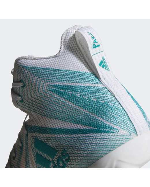 timeless design dce9c b2c9d ... Adidas - White Freak X Carbon Mid Parley Cleats for Men - Lyst ...