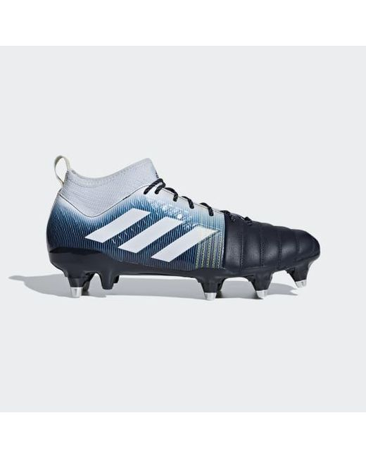 adidas Kakari X kevlar Soft Ground Boots in Blue for Men Lyst