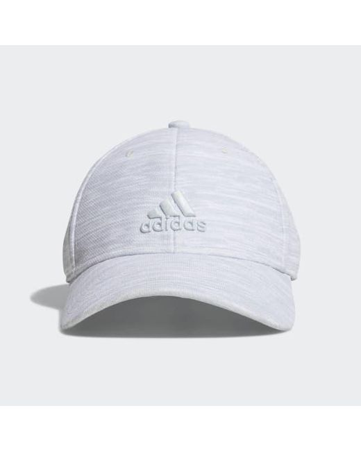 Adidas - White Rucker Plus Stretch Fit Hat for Men - Lyst ... 218f3d444c66