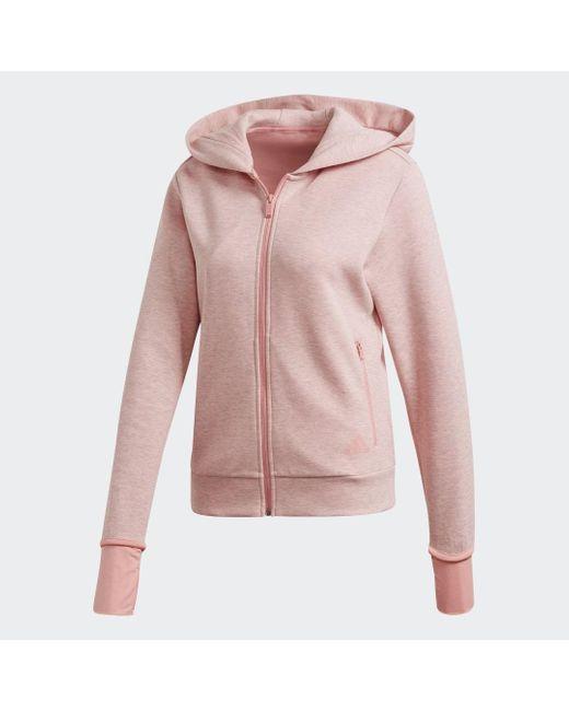 Adidas Pink Must Haves Versatility Kapuzenjacke
