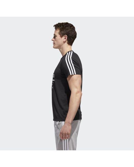 82d9f2a5cf63 ... Adidas - Black Classic International Tee for Men - Lyst ...