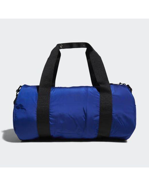 35ee128d03d5 ... Adidas - Blue Vfa Roll Duffel Bag for Men - Lyst ...