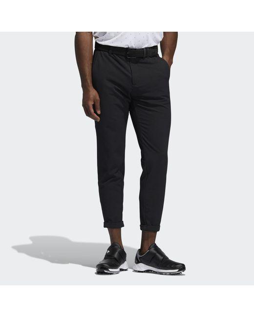 Adidas Black Pin Roll Pants for men