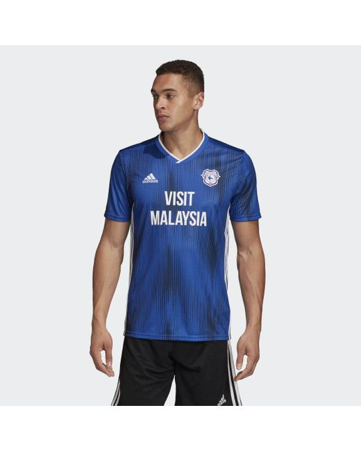 Adidas Cardiff City Fc Thuisshirt in het Blue voor heren