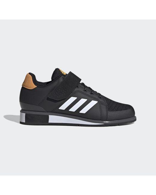 Adidas Power Perfect 3 Weightlifting Schoenen in het Black voor heren