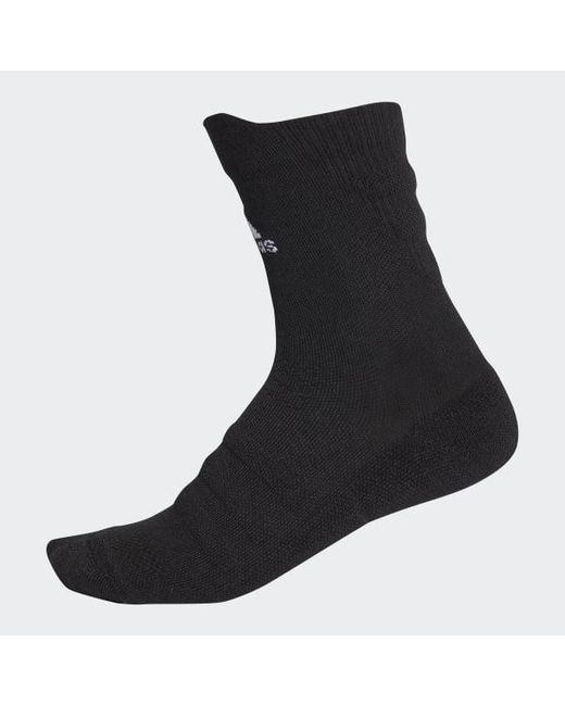6044c0f502 Adidas - Black Alphaskin Lightweight Cushioning Crew Socks for Men - Lyst  ...