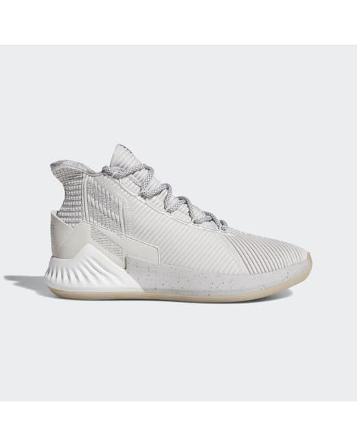 buy online ca2d0 ab582 Adidas - Gray D Rose 9 Shoes for Men - Lyst ...