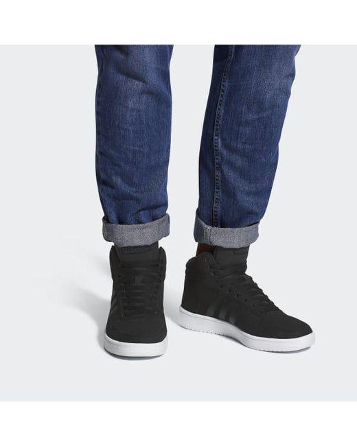 catalyseur adidas hoops.la hoops.la adidas mi - chaussures en noir pour les hommes b1b2d8