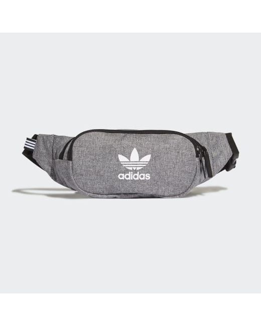 07b4132394bd Adidas - Black Mélange Crossbody Bag for Men - Lyst ...