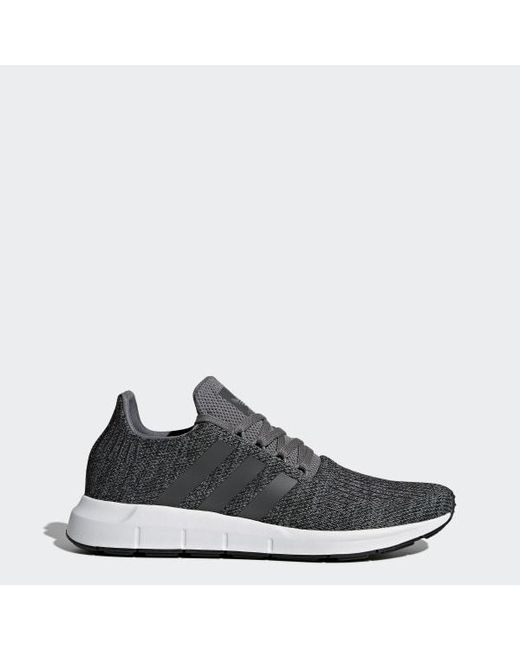 9ce466980 Adidas - Gray Swift Run Shoes for Men - Lyst ...