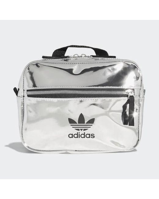 bfbd65c2a Adidas - Metallic Mini Airliner Backpack for Men - Lyst ...