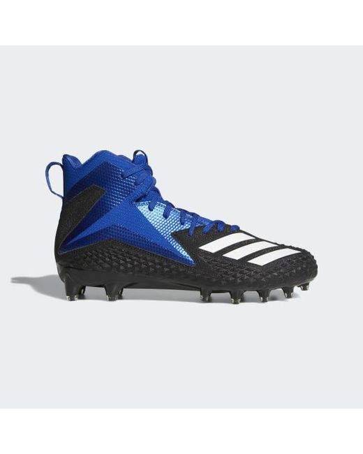 ee8e1983f Adidas - Black Freak X Carbon Mid Cleats for Men - Lyst ...