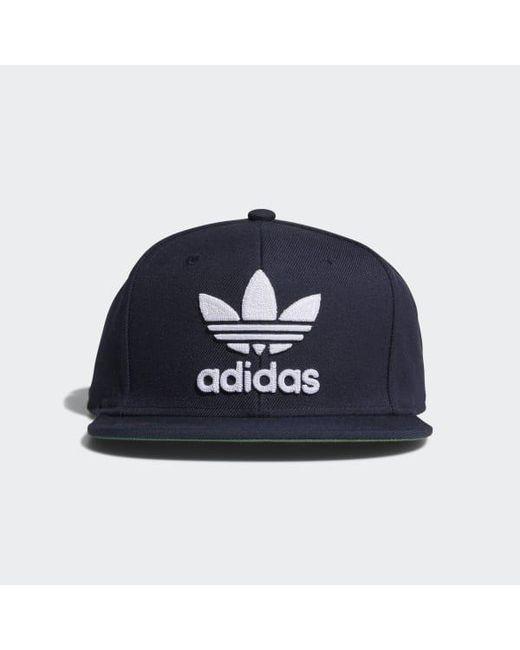 a40b8954 ... wholesale adidas blue thrasher chain hat for men lyst b86b1 f2e3b