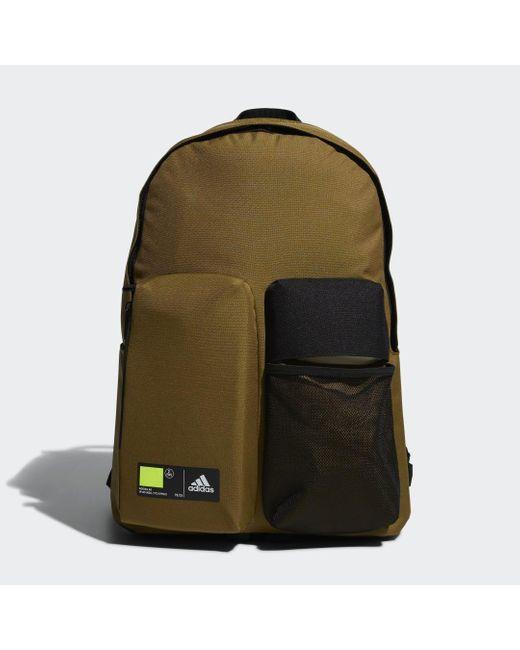 Adidas Brown Classics 3D Pockets Rucksack