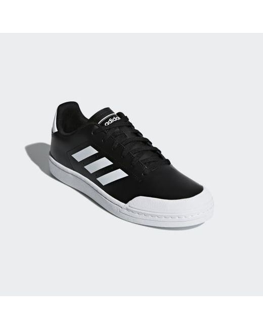 769280cfaed5 ... Adidas - Black Court 70s Shoes for Men - Lyst ...