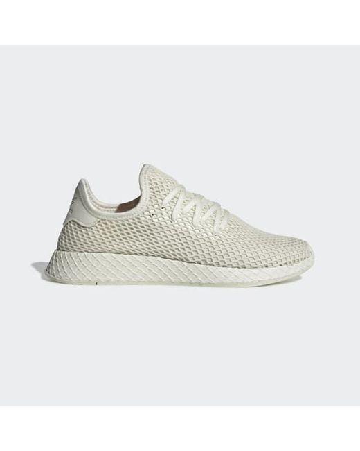 3a808a03cf334 Adidas - White Deerupt Runner Shoes - Lyst ...