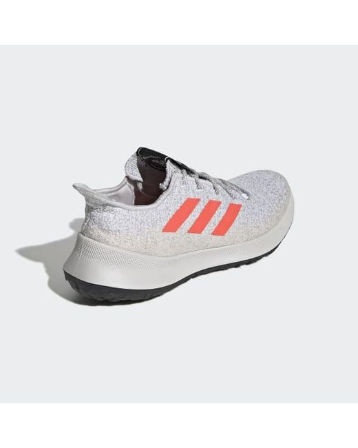 adidas Lace Sensebounce+ Shoes in Grey (Gray) Lyst