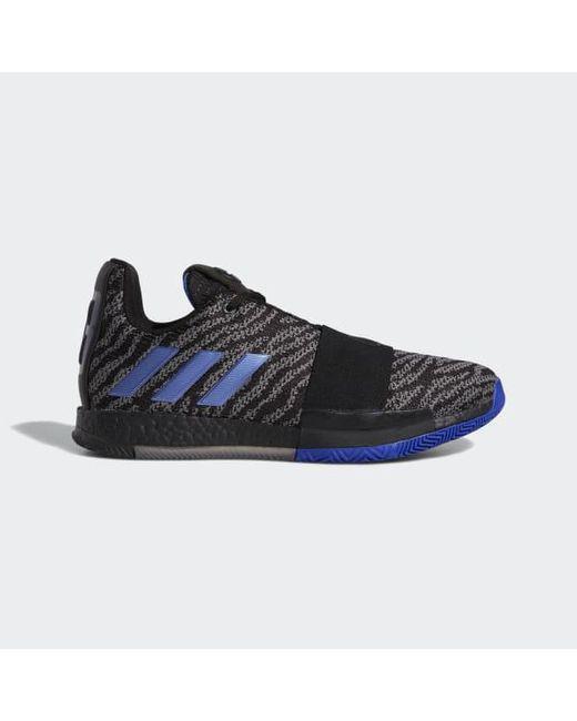 1a53342c03d Adidas - Black Harden Vol. 3 Shoes for Men - Lyst ...