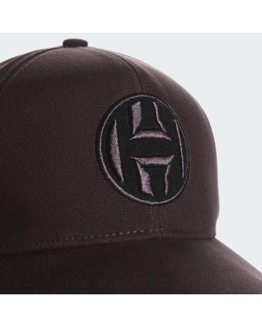 ... Adidas - Red Harden Cap for Men - Lyst ... 6772378f68e2