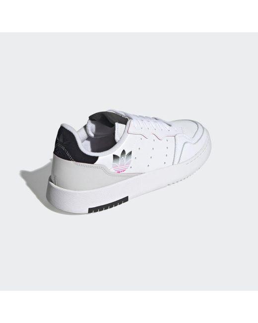 Adidas Supercourt Schoenen in het Gray