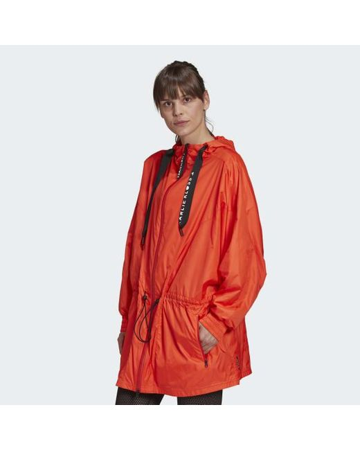Adidas Orange Karlie Kloss Wind.rdy Parka