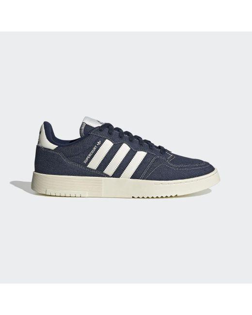 Adidas Supercourt Schoenen in het Blue