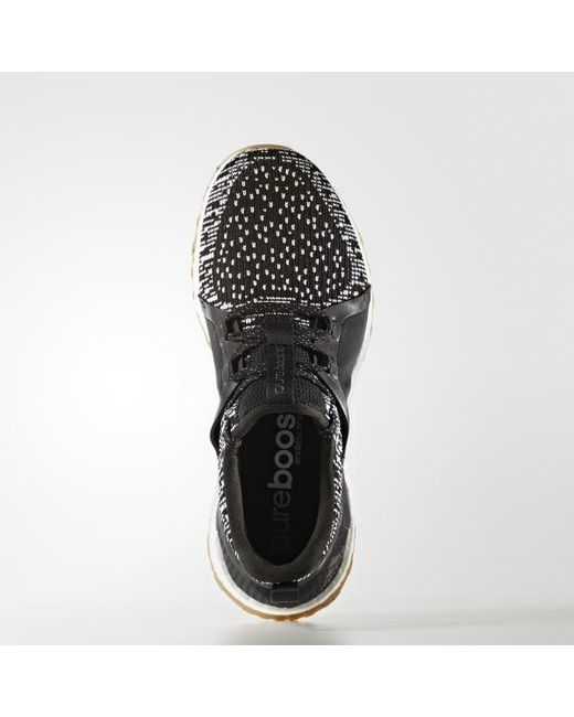 8bb7fe9ee1144 ... order adidas black pureboost x all terrain shoes for men lyst 06f73  58394