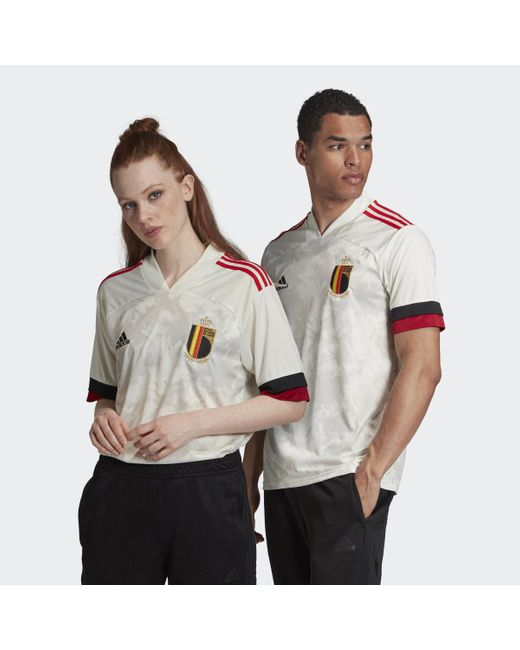 Adidas Multicolor Belgium Away Jersey for men