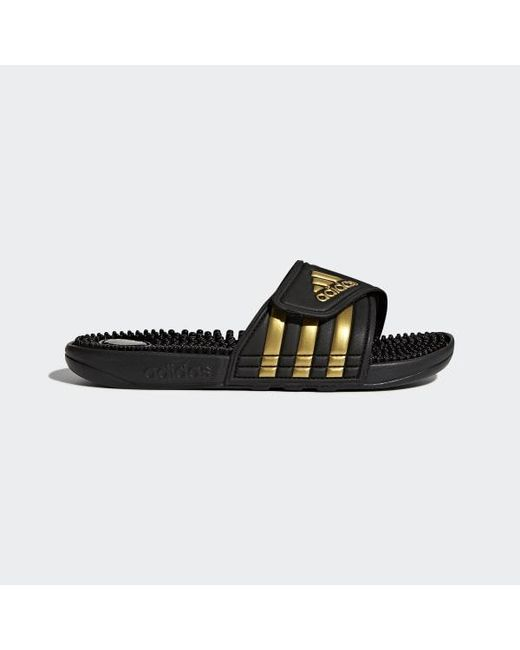 29d467d5f Adidas - Black Adissage Slides for Men - Lyst ...