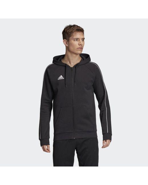 Adidas Core 19 Hoodie in het Black voor heren