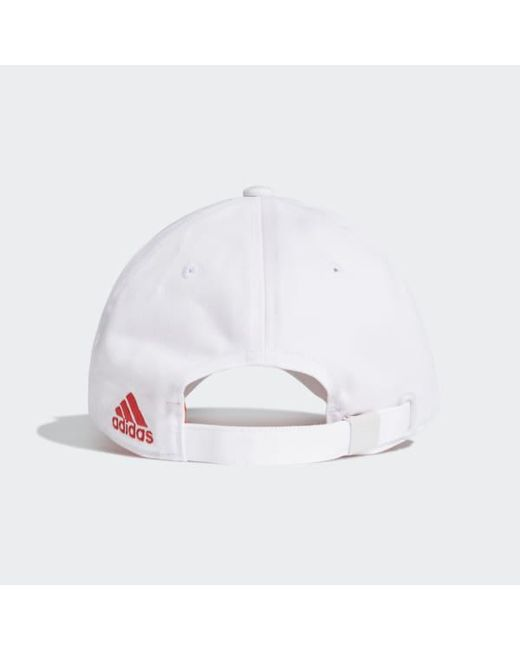 602a82c508 Men's White Juventus 3-stripes Cap
