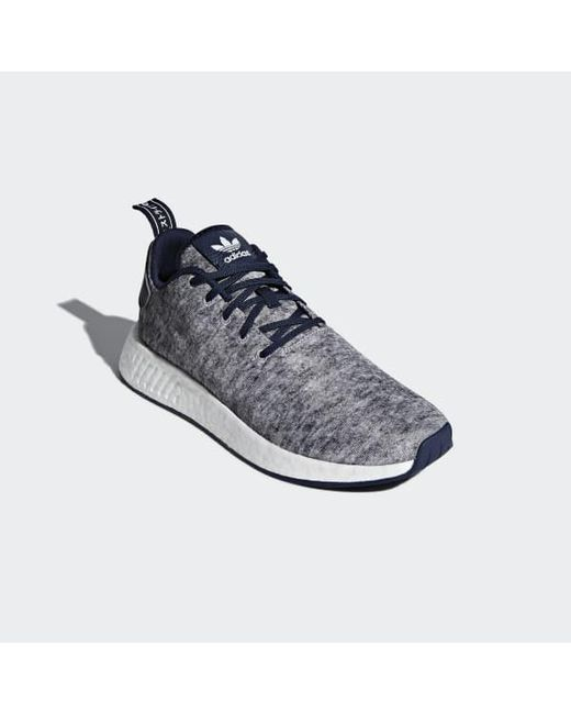 9a420d69f04ee Lyst - adidas Ua sons Nmd R2 Shoes in Gray for Men
