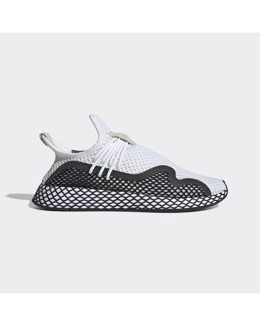 e822a5bbc5bb5 Adidas - White Deerupt S Shoes - Lyst ...