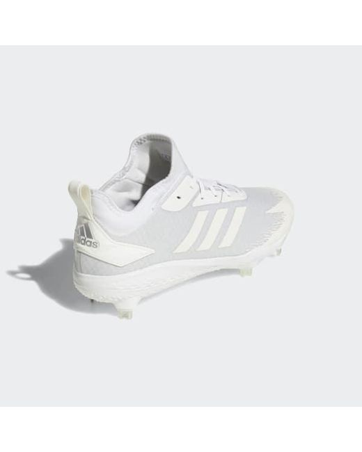 01c84c2dfbf0 ... Adidas - White Adizero Afterburner V Dipped Cleats for Men - Lyst ...