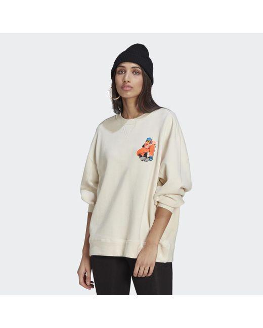 Adidas Adicolor Essentials X Egle Sweater in het Multicolor