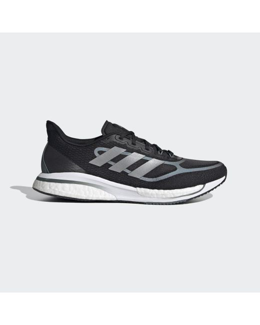 Adidas Black Supernova+ Laufschuh