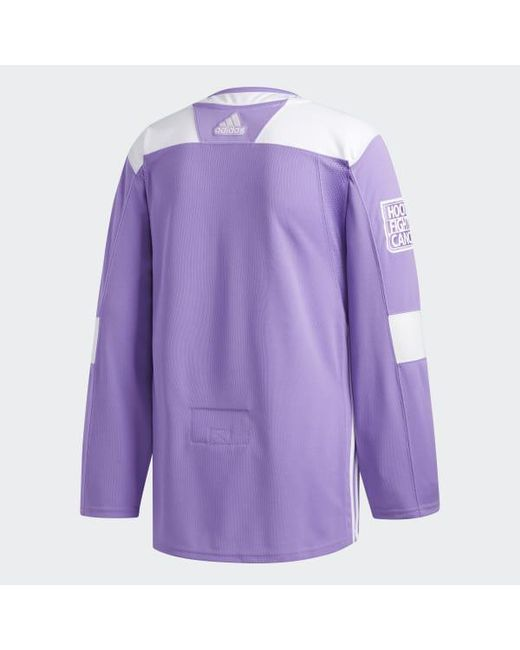 3c75cacad ... Adidas - White Capitals Hockey Fights Cancer Authentic Jersey for Men -  Lyst ...