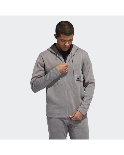 Men's Gray Cross up 365 Sweatshirt