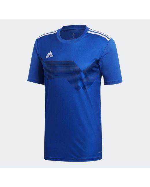 Adidas Voetbalshirt Campeon 19 in het Blue voor heren