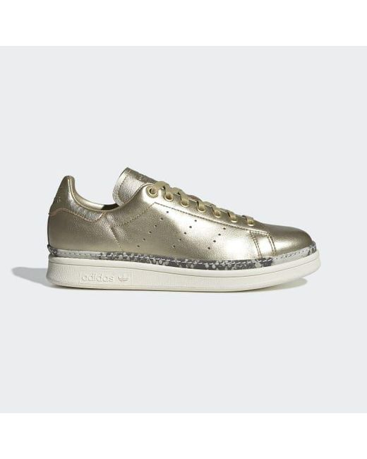 e4e251a302f6 Adidas - Metallic Stan Smith New Bold Shoes - Lyst ...