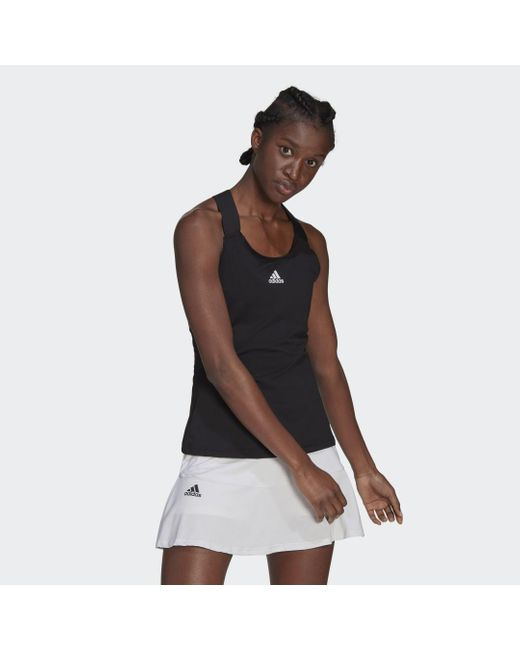 Canotta Tennis Y di Adidas in Black