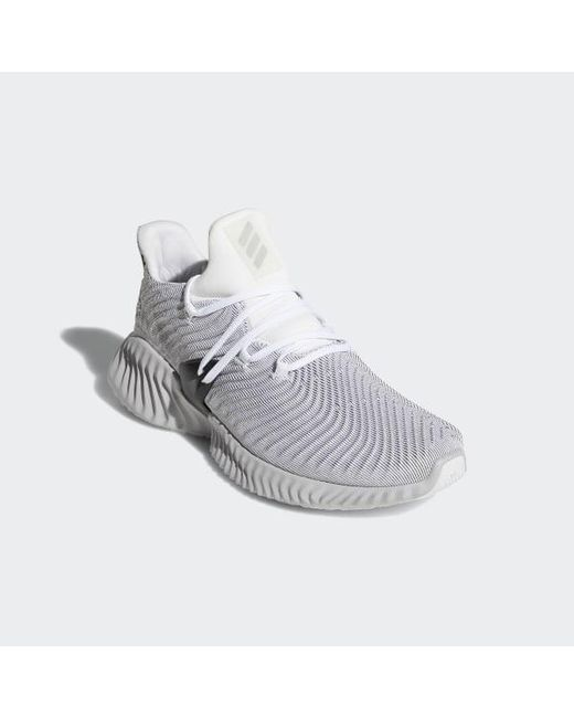 new concept ff63c ed8b9 ... Adidas - White Alphabounce Instinct Shoes for Men - Lyst ...
