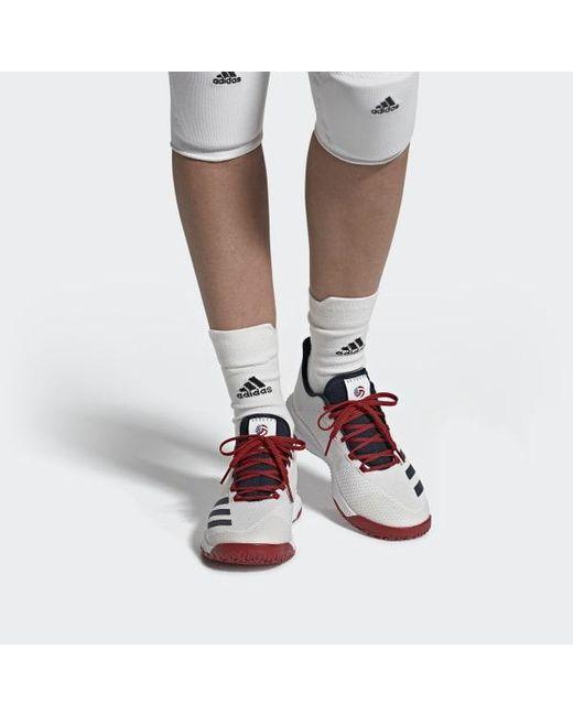 buy online 31ad8 c63b8 Women's White Crazyflight Bounce 3 Shoes
