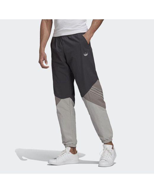 Adidas Sprt Archive Woven Trainingsbroek in het Gray voor heren