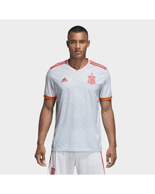 f3658b6ccf9 Adidas - Blue Spain Away Jersey for Men - Lyst ...