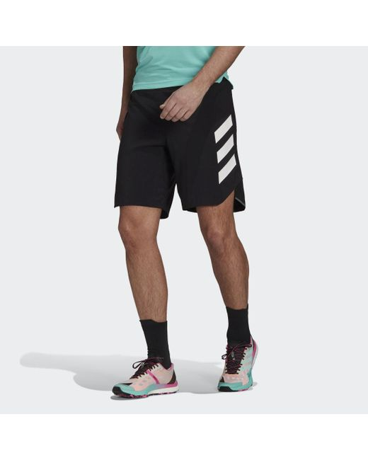 Adidas TERREX Parley Agravic All-Around Shorts in Black für Herren