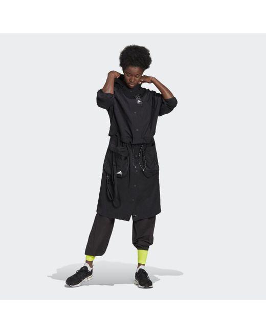 Adidas Sportswear Three-in-one Parka in het Black