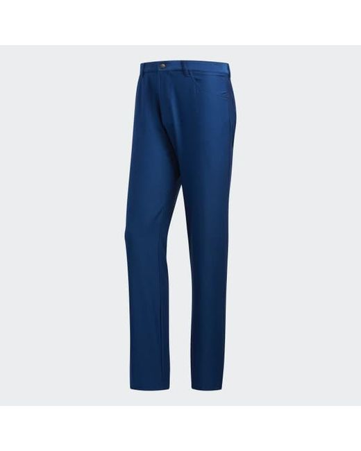 a0cc9669af Lyst - adidas Ultimate365 Heathered Five-pocket Pants in Blue for Men